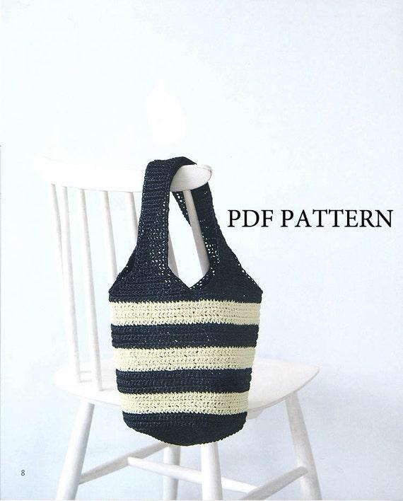 PDF patrón patrón patrón de bolso ganchillo patrón patrón | Etsy
