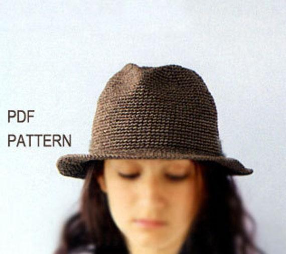 download pdf crochet panama hat patterncrochet fedora hat  0dc41cbdc3c