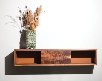 Hayes Floating Media Unit, Tv Console Wall mounted