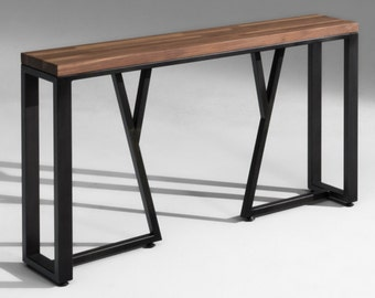 Media Console, Industrial Console Table, Linwood Console