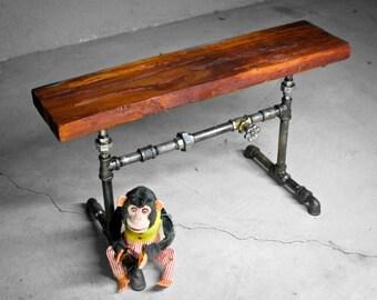 Rustic Woodiron Bench