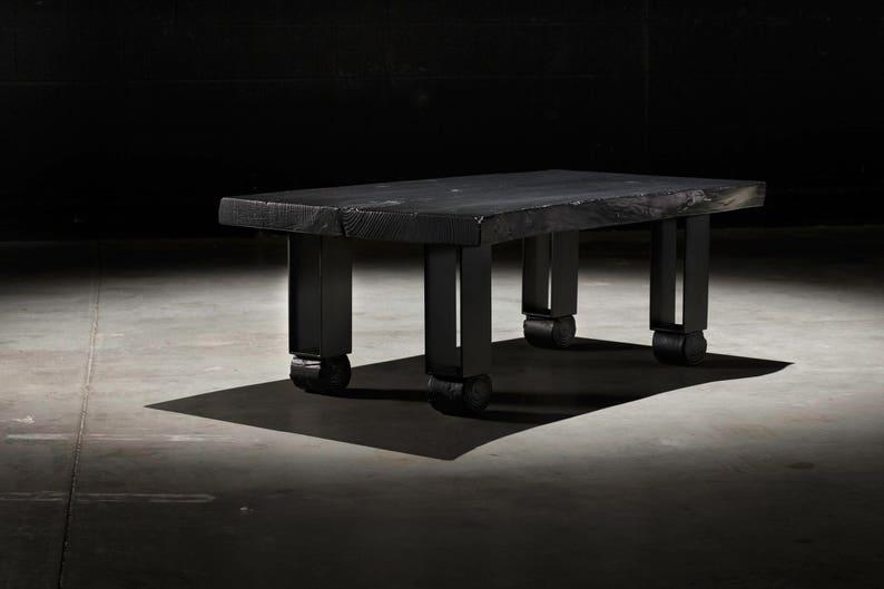 Live Edge Coffee Table, Willis Coffee Table, Slab Coffee Table