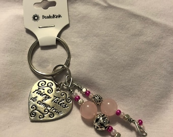 Fairy Tales do come true key chain