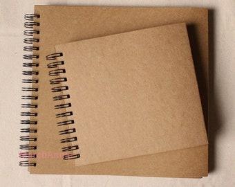 98pages Kraft Scrapbook, Kraft sketch book,Wedding Guest Book