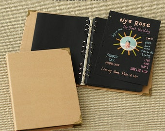 39 sheets (78 pages) photo album,Scrapbook book,sketch book,Hand-painted book,Notepad