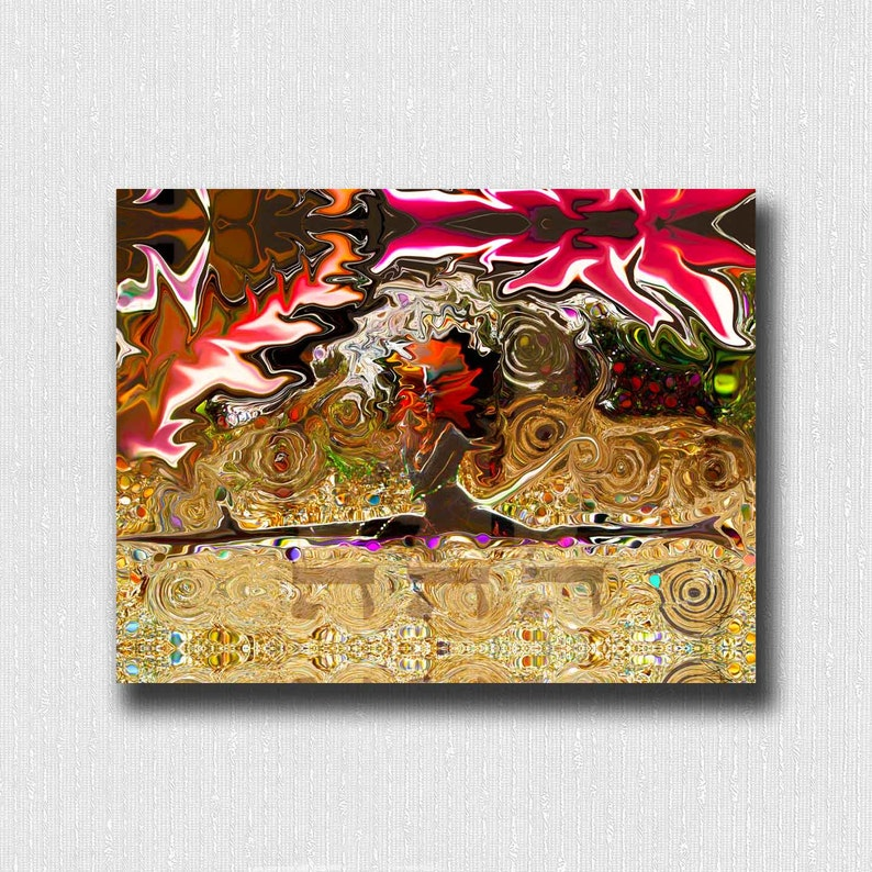 Yoga Art Print ~ Hanumanasana Monkey Pose w/ Kabbalah 72 Names of God for  Self Esteem Digital Print 11