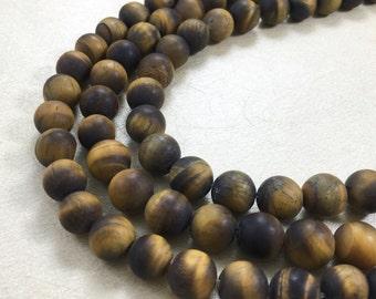 6mm matte tiger eye  beads ,wholesale tiger eye beads ,tiger eye jewelry. beads
