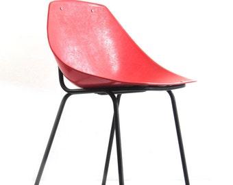 Schwedische lmv lammhult vintage s70 stoelen 1968 rood etsy
