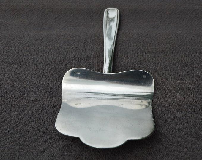 French Boulanger Fine Silver Plate Asparagus Shovel Cake Slice Art Nouveau Art Deco Utensil Table Flat Wear Jugendstil Copper WMF Bake Off