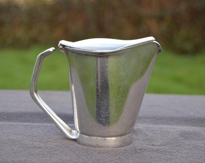 WMF WARTTEMBERGISCHE METALWARENFABRIK Geislingen-Steige N S Nickel Silver German Milk Jug Germany 1920-1930 Milk Pot Hot Water Jug