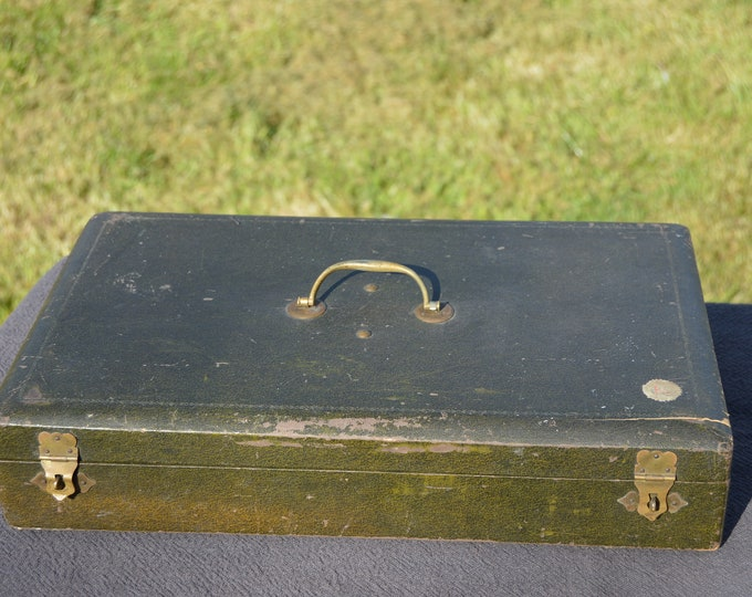 Christofle Antique Cutlery Box Flatware Box Fitted Interior Fully Marked Christofle Paris Box for Utensil Flatware