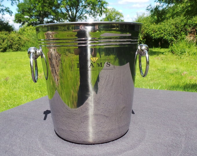 Diam Wine Cooler Champage Bucket French Restaurant Quality Superb Plated Really Special Design and Quality Champage Cooler Bucket