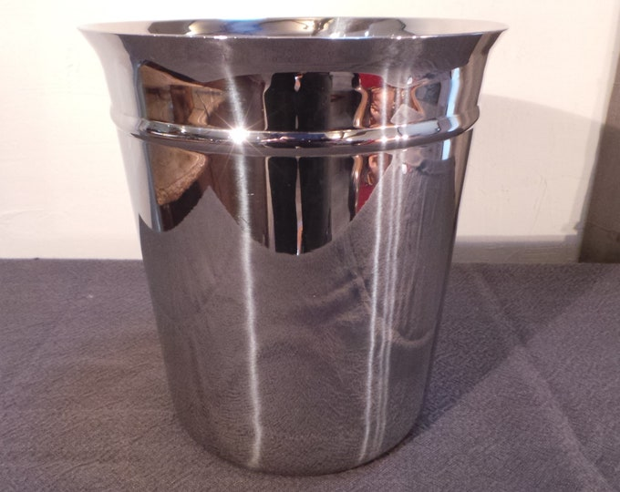 Couzon Wine Cooler Champage Bucket French Restaurant Quality Superb Stainless Steel Really Special Design and Quality