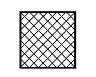 Diamond pattern stencil SVG, lattice, wire fence, scrapbook pages,papercut template, stamping embossing, Cricut Sillhouette,