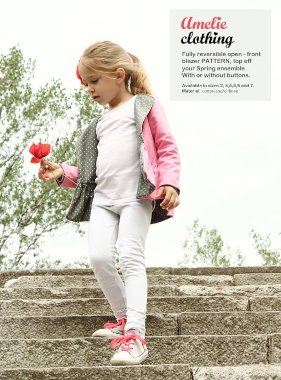 New Nimeni spring / autumn BLAZER pattern  childrn's image 0