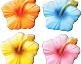 Hibiscus Assortment  Sugar Decorations  Hibiscus Flowers      Simply Darling