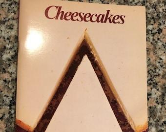 Vintage Cookbook CHEESECAKES/ 1981 Cheesecake Cookbook/ Sylvia Schur Cheesecakes/ Lindy's Cheesecake Recipe