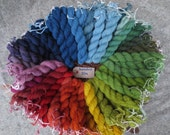 Naturally dyed swaledale wool yarn (fine 2 ply) in 30 metre skeins