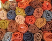 Naturally dyed woolly wel...