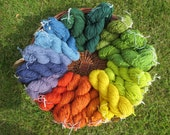 Naturally dyed double kni...