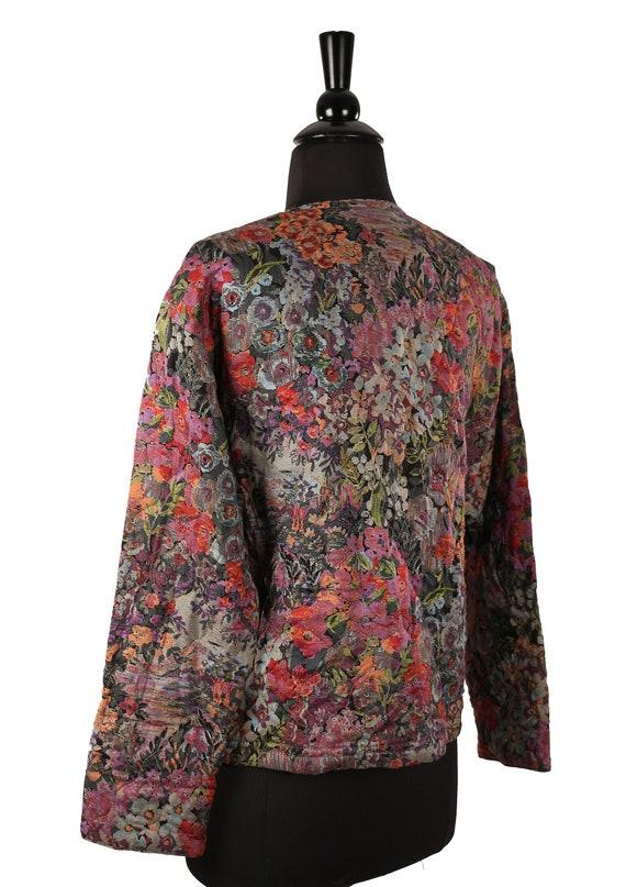 Details about Saint Tropez West One Button Green Jacket Cardigan Sweater Size Large Chest 36