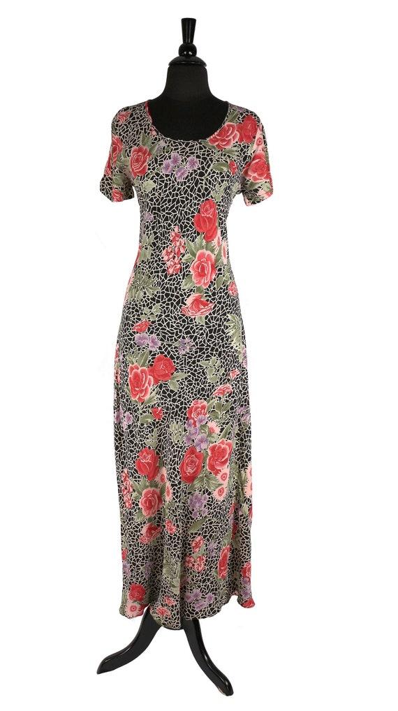 Vintage 1990's does 1930's Bias Cut Dress, Retro R
