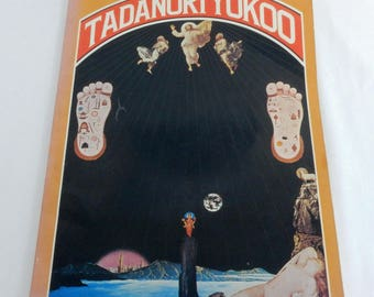 Tadanori Yokoo 100 Works 1978 Poster Book Pop Culture Art 60's 70's