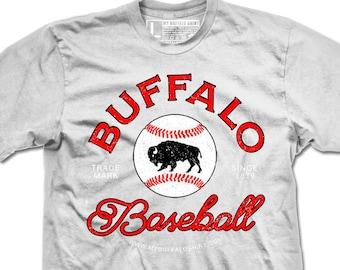 Buffalo Baseball Adult unisex t shirt | graphic t shirt | screen printed | premium Tee shirt
