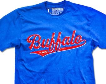 Buffalo script logo Adult unisex t shirt | graphic t shirt | screen printed | premium Tee shirt
