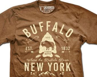 Arrowhead Buffalo Adult unisex t shirt | graphic t shirt | screen printed | premium Tee shirt