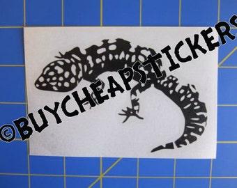 Leopard Gecko Decal/Sticker 4X3