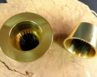 Ikebana Vases - Brass