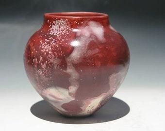 Lovely Vintage Maroon Vase