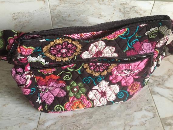 Vera Bradley Cross-Body Purse Mod Floral Pink with bonus  98d1ab72ccc6a
