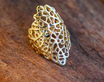 Emilia Gold Brace Ring