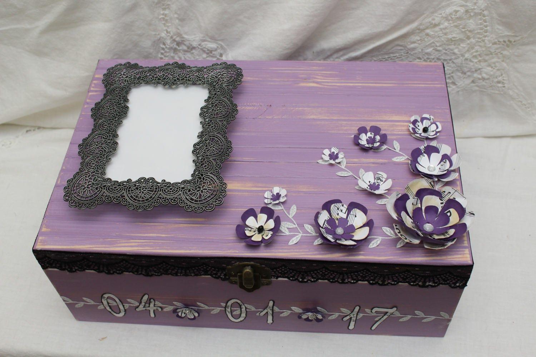 Keepsake Wedding Gifts: Anniversary Gift Bridal Gift Box Memory Box Keepsake Box