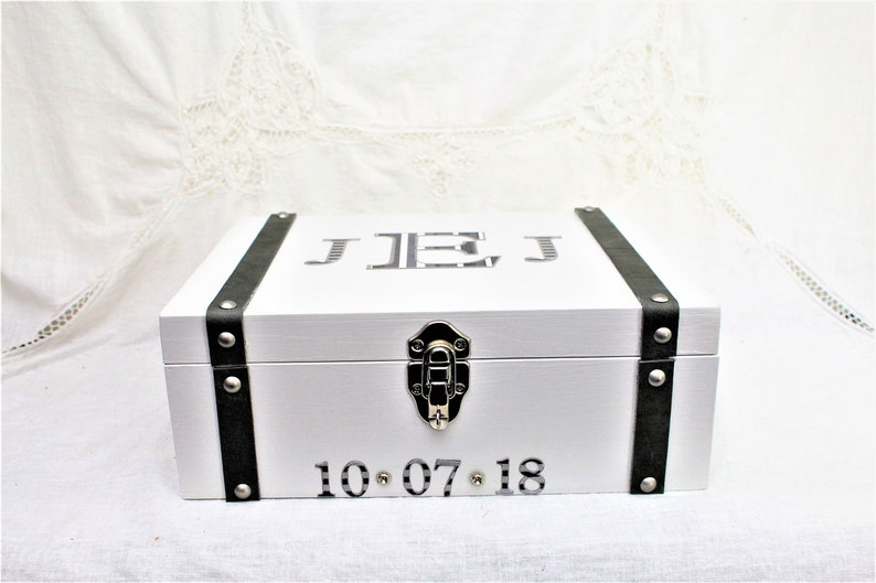 Grooms Gift From Bride Grooms Gift Groomsmen Box Wedding Gift Box With Lock Groomsmen Proposal Box Memory Box Wedding Memory Box