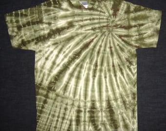Wasabi Spiral Tie Dyed T-Shirt