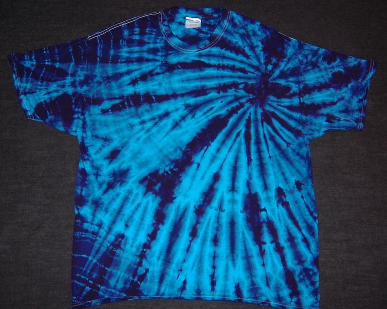 Ocean Spiral Tie Dyed T-Shirt image 0