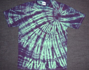 Purple Kush Spiral Tie Dyed T-Shirt