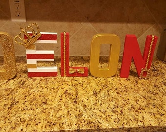 customize letters etsy