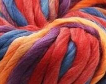 PREORDER Rainbow Sorbet Chunky Yarn 1oz Doll Hair for OOAK, Custom Monster High, My Little Pony, Blythe wig making