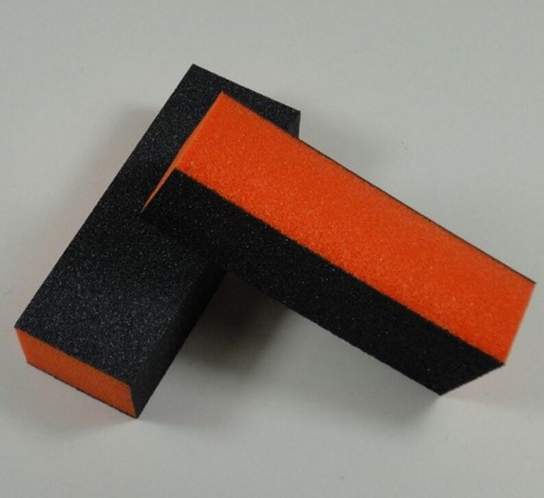 NA-25 3-Side File Buffer 3-side Professional Nail Buffer Block | Etsy