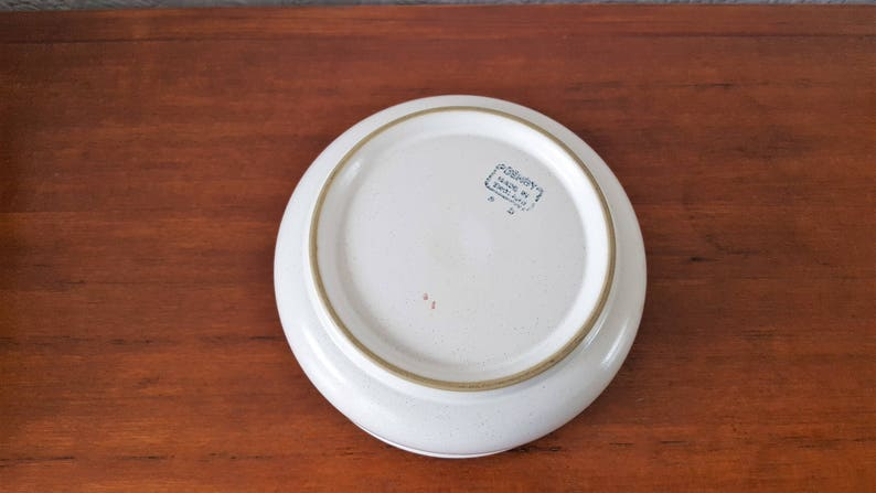 Dish Denby Troubador Fruit Bowl Salad Bowl Serving Bowl