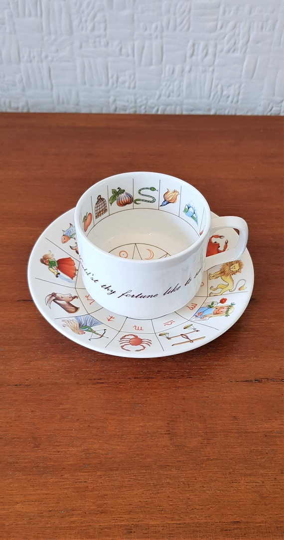 Royal Kendal Fine Bone China feuille lecture tasse...