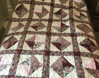 Soft flannel throw - gently used