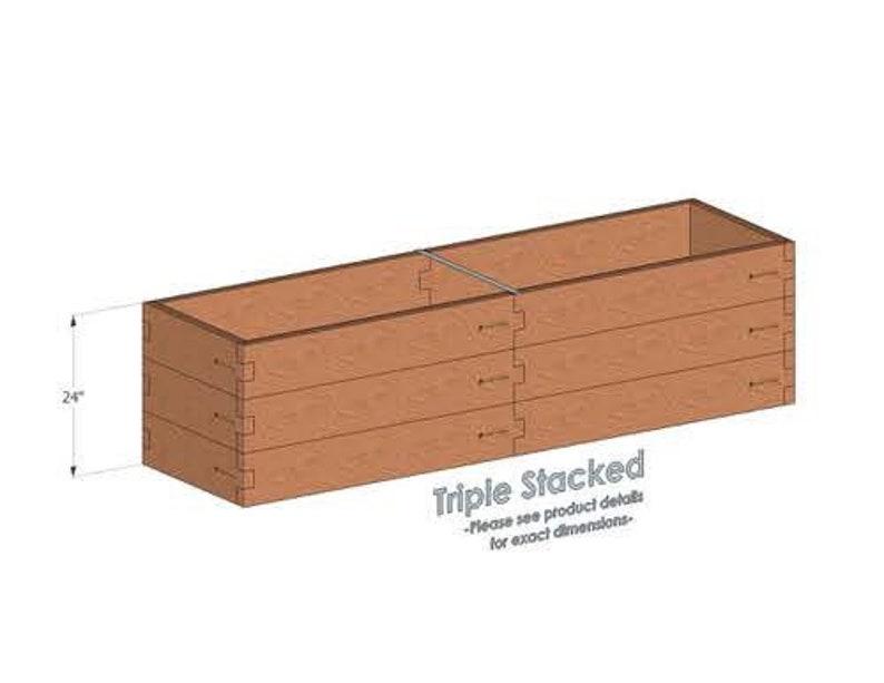 2x8 Cedar Raised Garden Bed