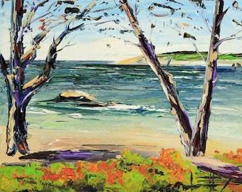 Art Commission, Landscape Painting, Custom Art, Oil Painting Landscape, Textured Painting, Gallery Wall Art, Original Painting, Lisa Elley
