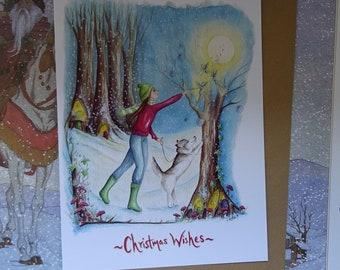 Spirited Away ~ A5 Christmas Card