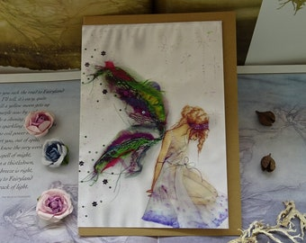 Fabric Faerie Art Card
